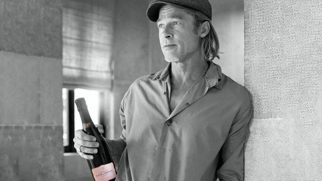 Brad Pitt roséja