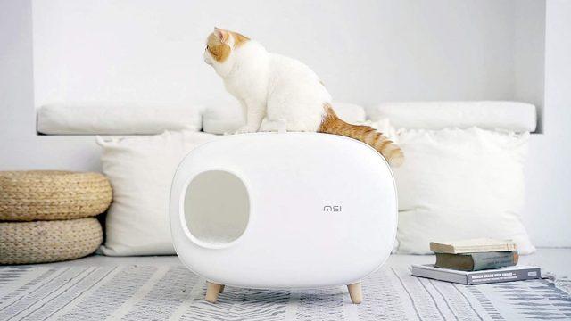 MS Modern Cat Litter Box